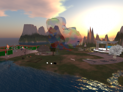 E-learning with Opensim, OpenVCE, an Open Source Virtual Collaboration Environment