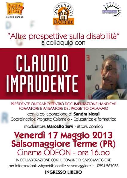 Claudio Imprudente Il Cortile Salsomaggiore 17-5-13