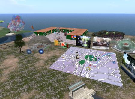 VirtualSalso, prove tecniche di simulazione 3D di alcune vedute di Salsomaggiore Terme